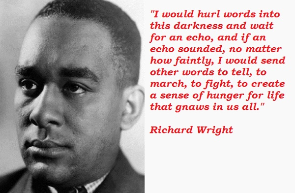 the context of richard wright and In the context of the early-to-mid-1950s, wright was prepared to recognize the possibility in west africa, but not in the united states e ethelbert miller: how much attention have richard wright scholars given to black power.
